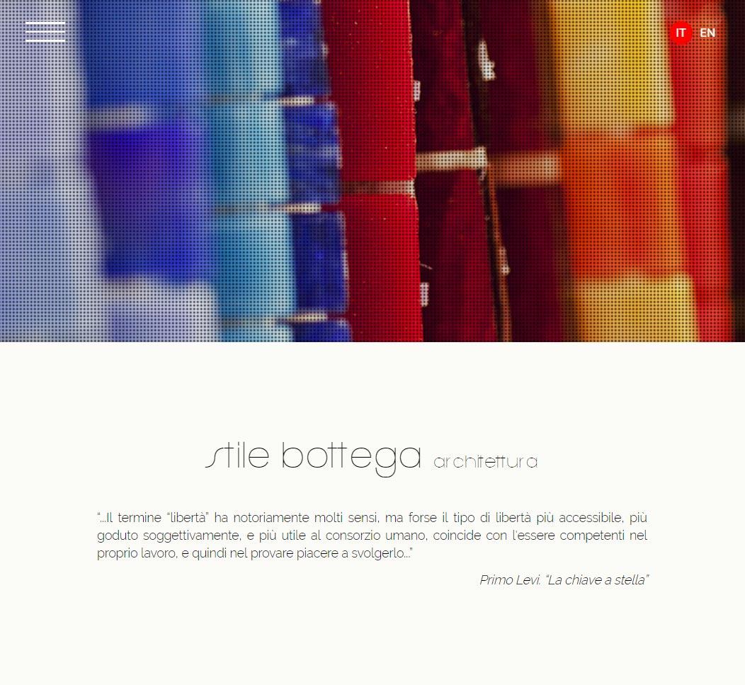 Stile Bottega Architettura - Sito Web
