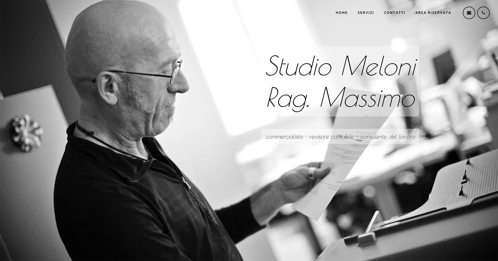 Sito web dello Studio Meloni Rag. Massimo